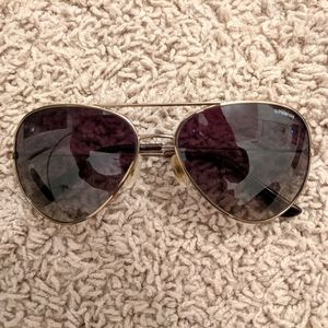 EUC Polaroid Double Bridge Polarized Sunglasses